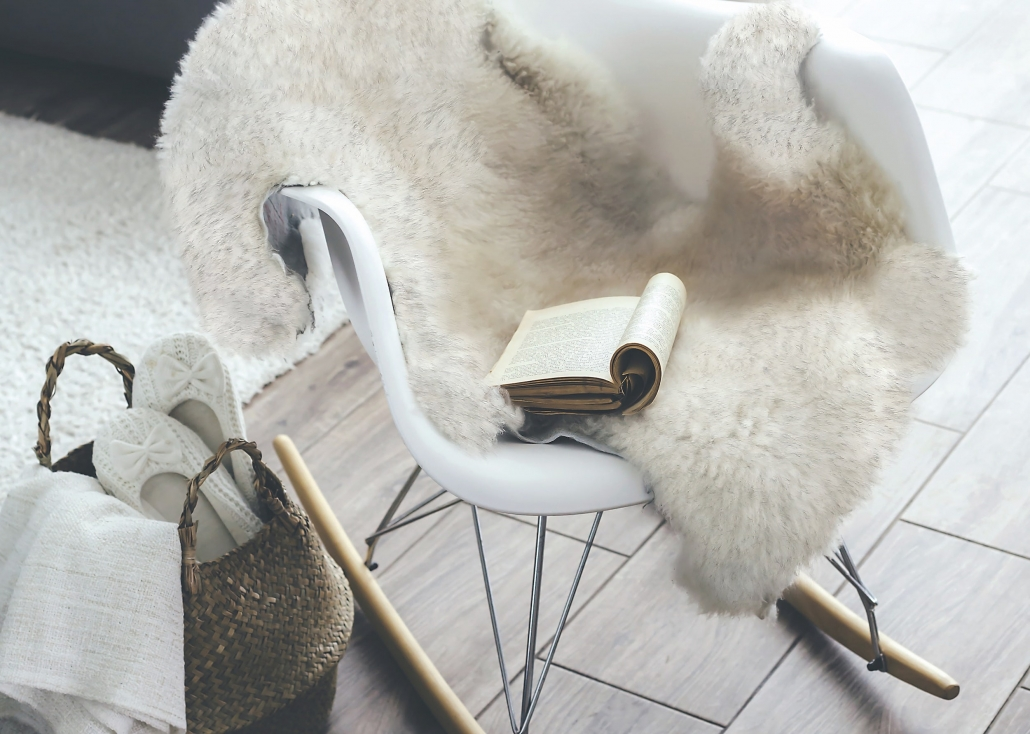 04 Animal Fur Af 1082 17 White Taupe Room
