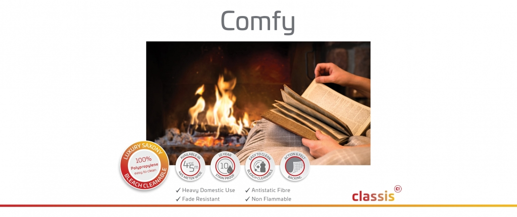 Comfy Website 3000x1260px