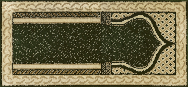 7195 Dark Green-Ivory