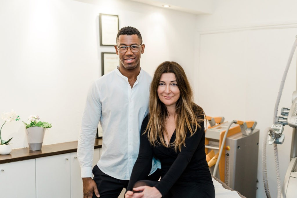 Ronaldo and Sabrina, Clear Light Clinic team