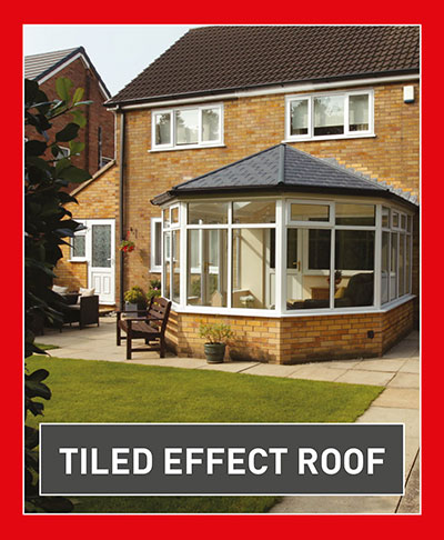 Clear View Tiled Roof Conservatory