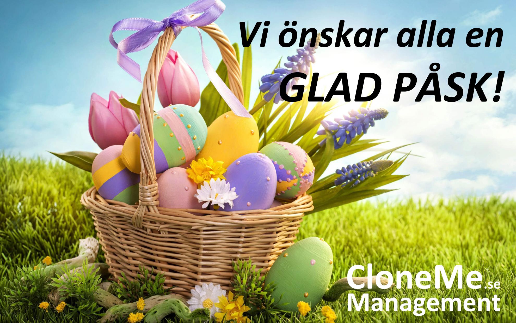 Vi önskar alla en Glad Påsk!