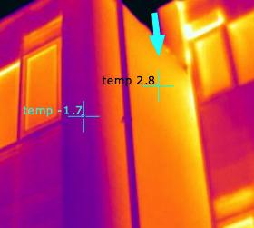 Je clusterwoning lekker warm? Of lekt de warmte? Thermografisch onderzoek Clusterwoning
