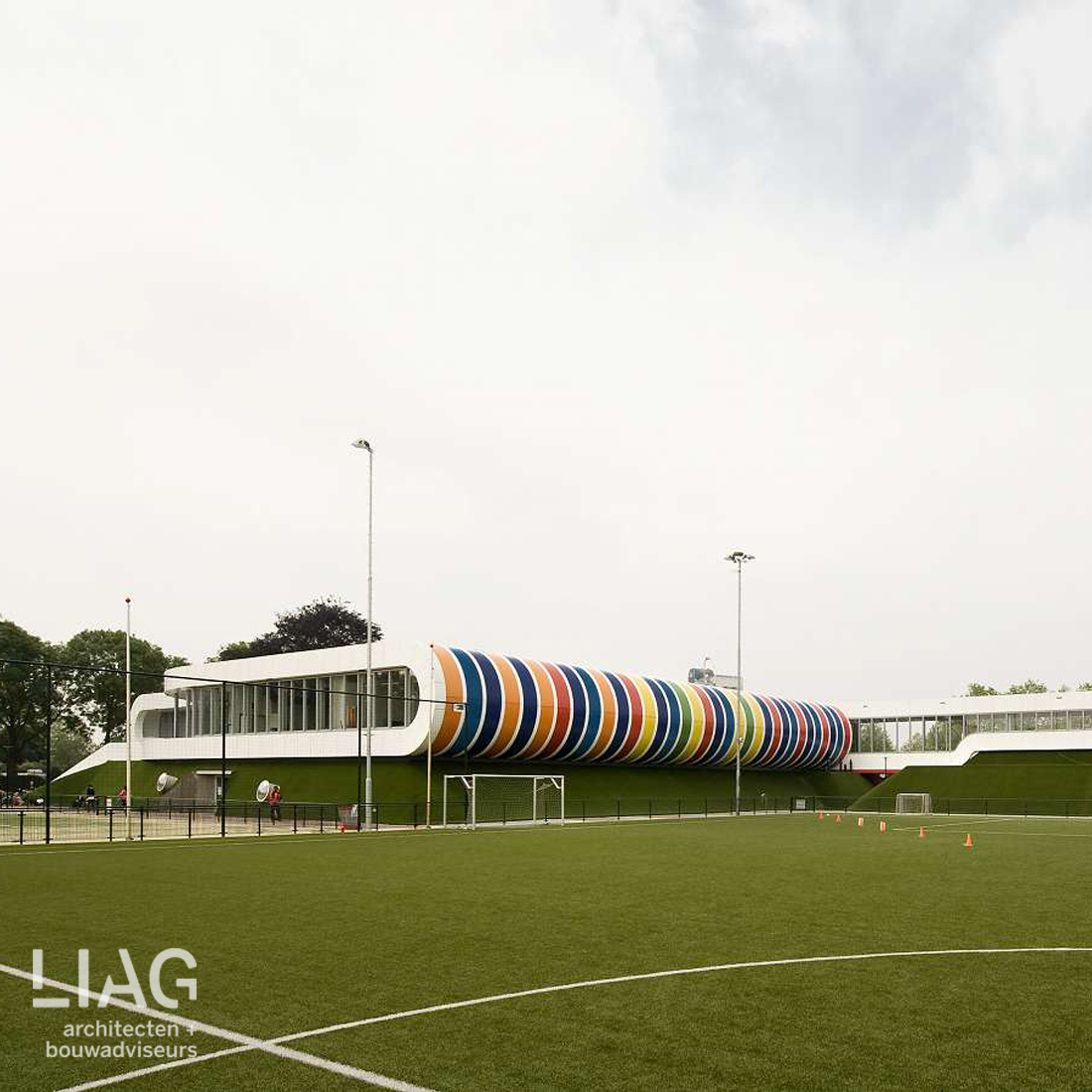 duurzaam multifunctioneel sportcomplex