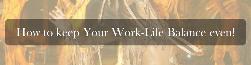 How to keep Your Work-Life Balance even (The Samba Way).