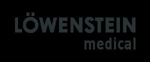 Logo von Löwenstein Medical in Dunkelgrau