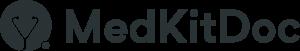 Logo von MedKitDoc in Dunkelgrau