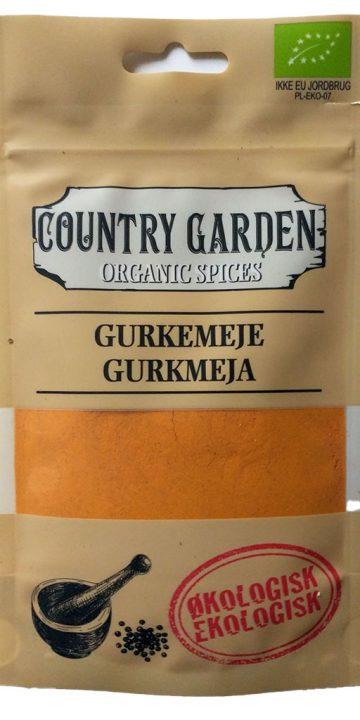 Gurkmeja - ekologisk, Columbus Spices
