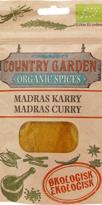 Madras curry - ekologisk, Columbus Spices