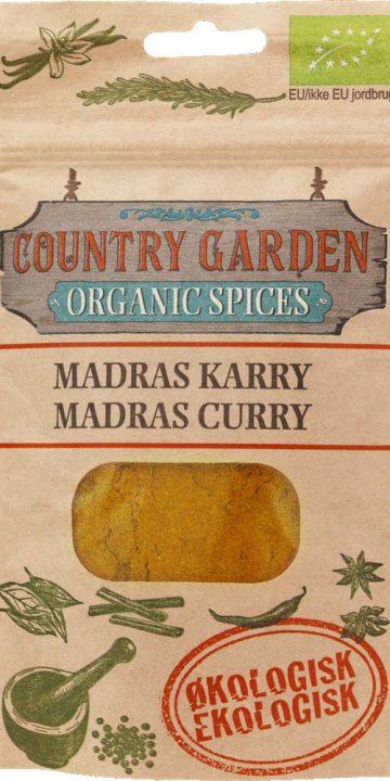 Madras curry - ekologisk, Columbus Spices
