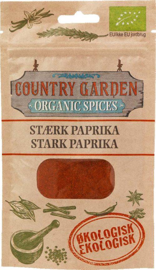 Paprika stark, ekologisk, Columbus Spices