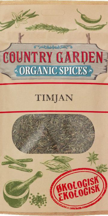 Timjan, Ekologiska kryddor, Columbus Spices