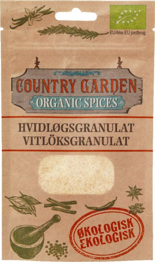 Vitlöksgranulat, ekologisk, Columbus Spices