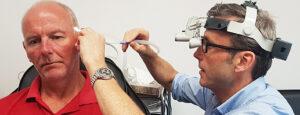 Microsuction Colwyn bay hearing Practice