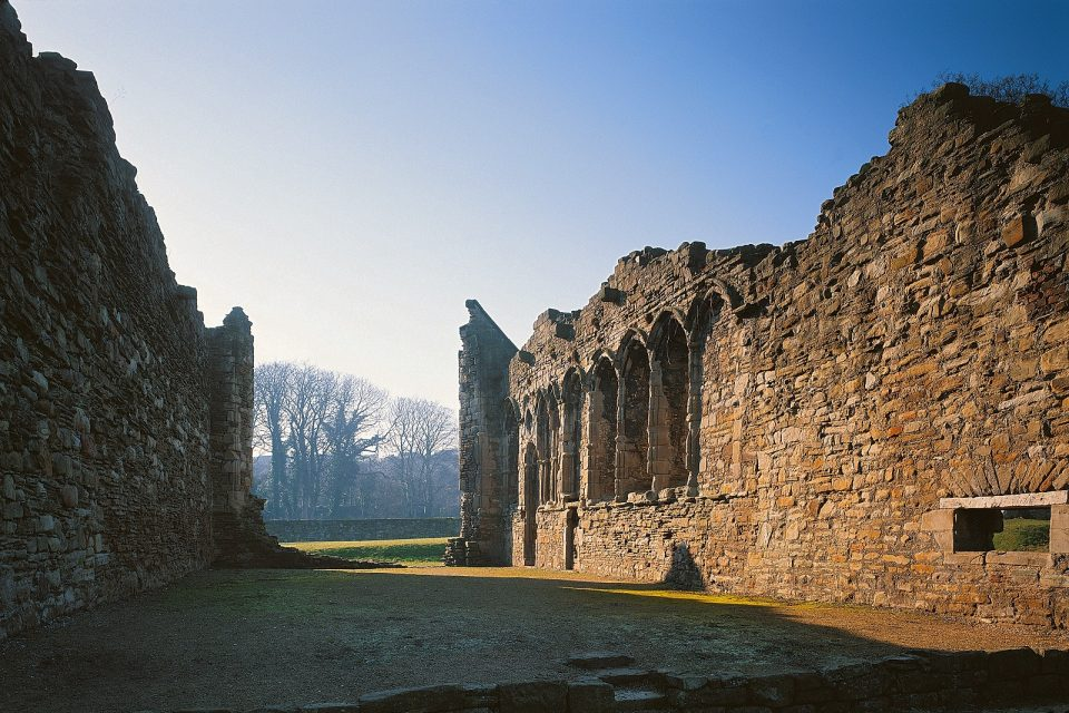 Basingwerk Abbey Holywell North Wales