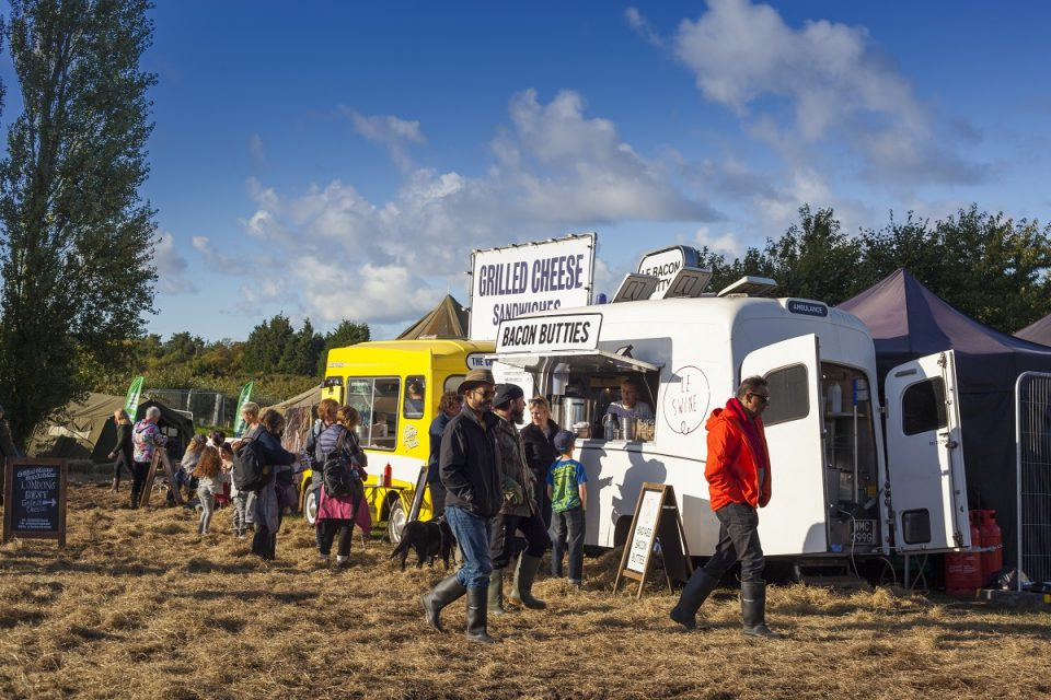 The Good Life Festival, Hawarden, Food Trucks, Flintshire, North Wales