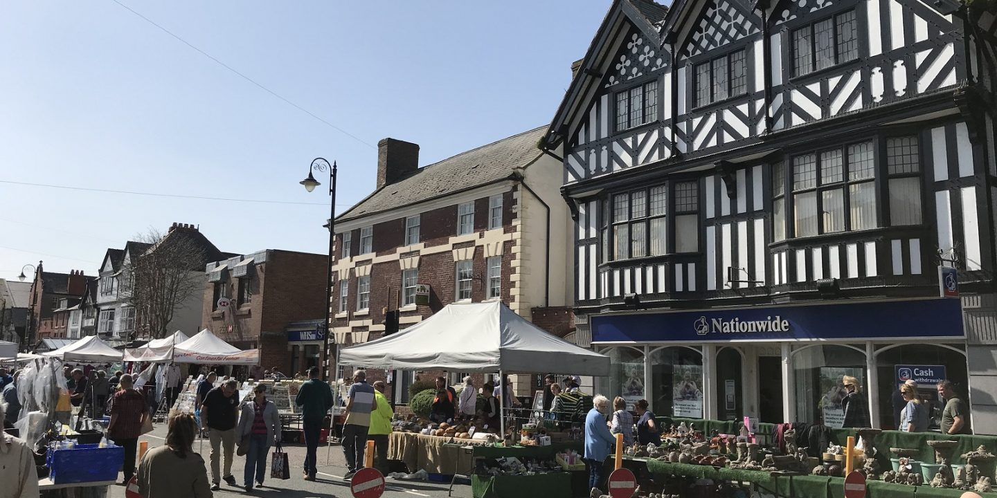 Mold | Market Shopping | Flintshire | North Wales