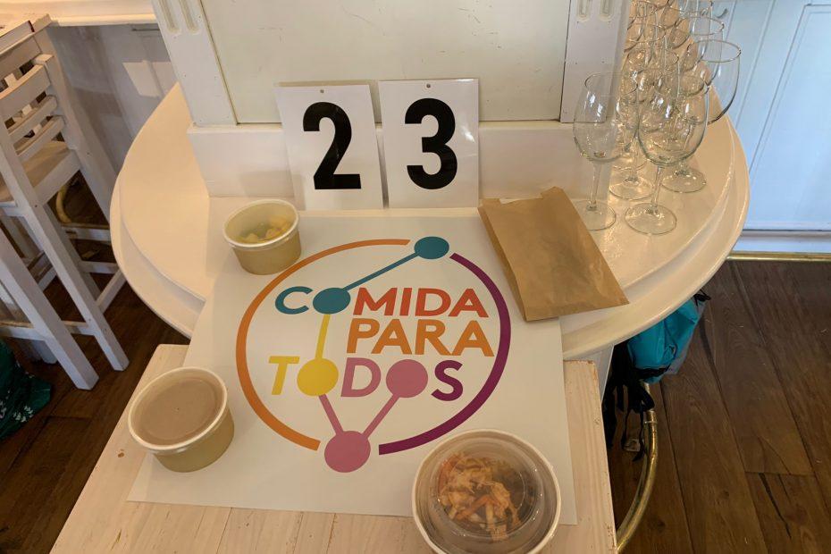 los primeros 23 menu de Chamberí gracias a Mamacampo