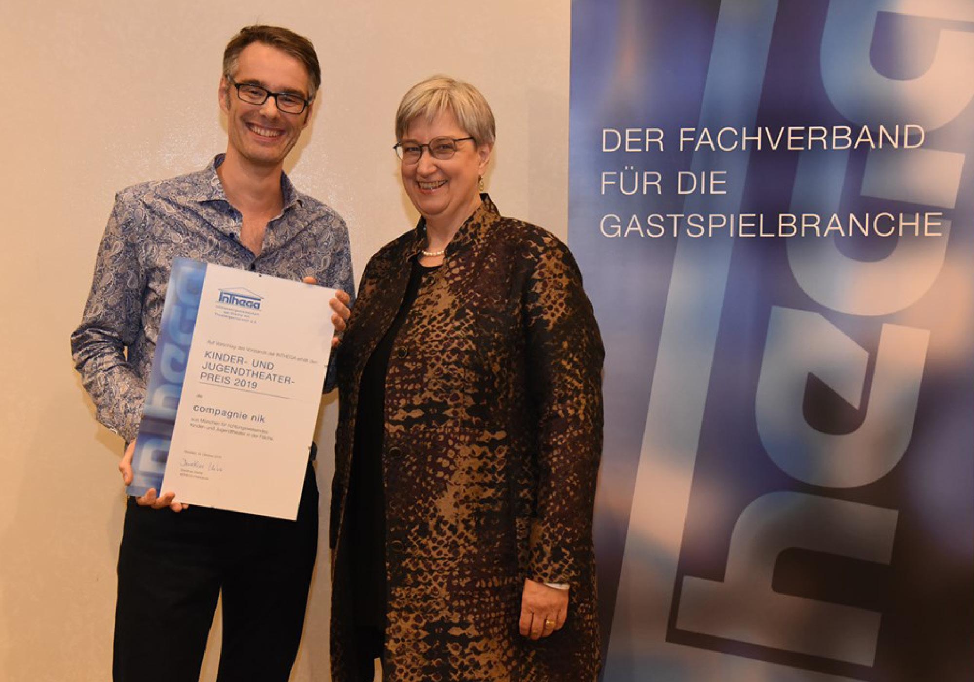 Preis des Inthega Vorstandes 2019