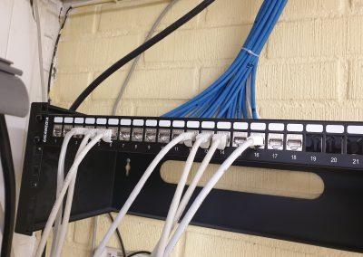 IT tjänster Kabeldragning