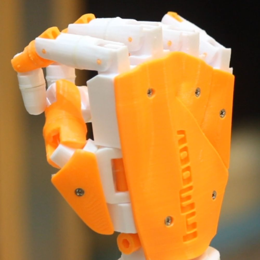Gesture Controlled Robot Arm