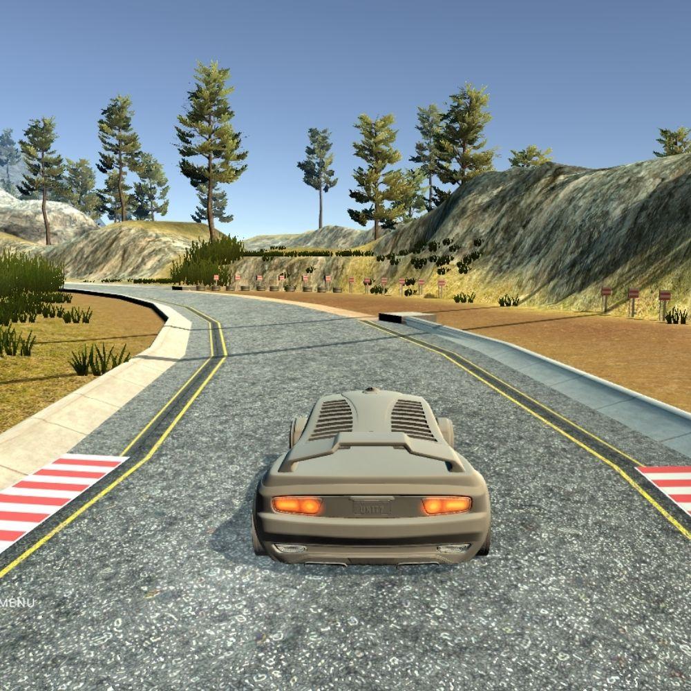 Self Driving Simulation using NVIDIA's Model