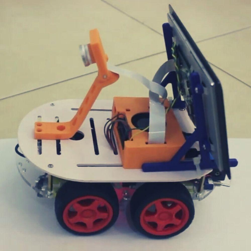 Self-Driving Car using Raspberry Pi