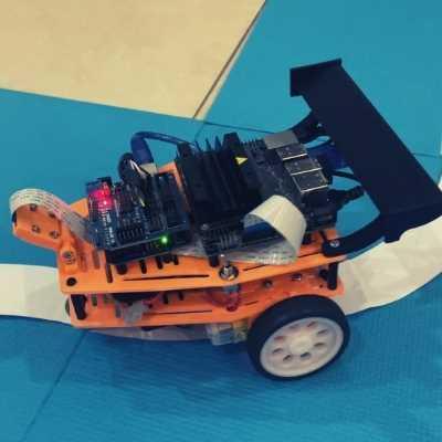 Lane Detection Jetson Nano CAr