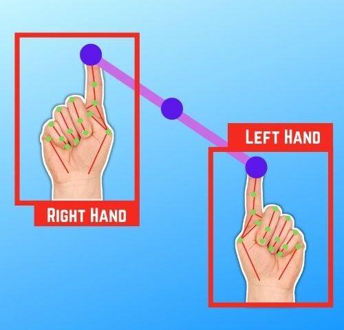 Multiple Hand Tracking CVZone