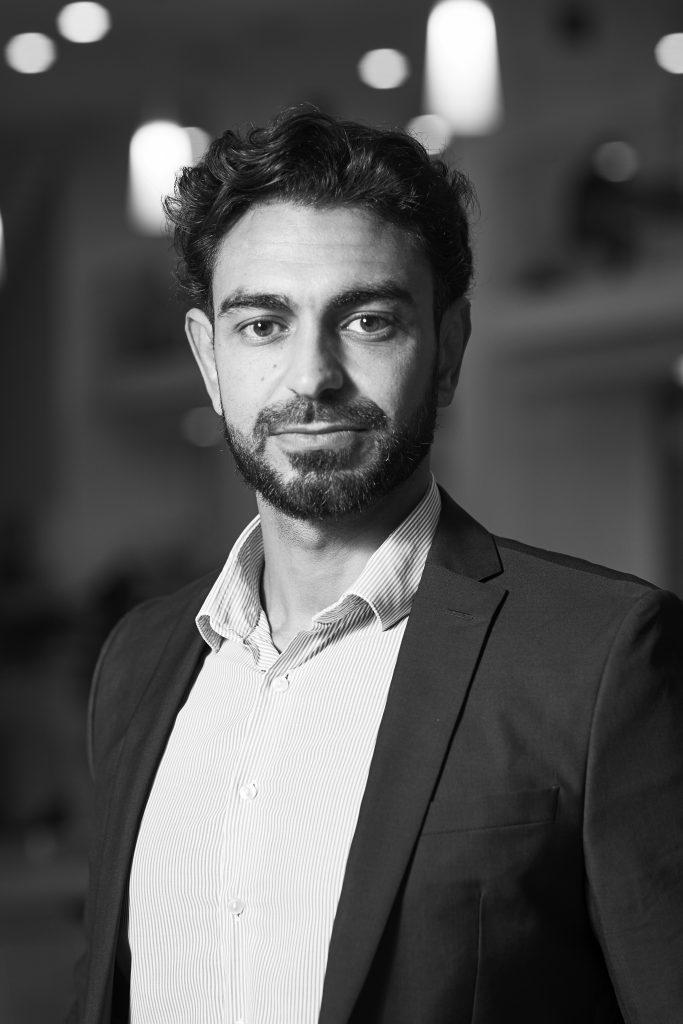Board member COMRE Benjamin Taher