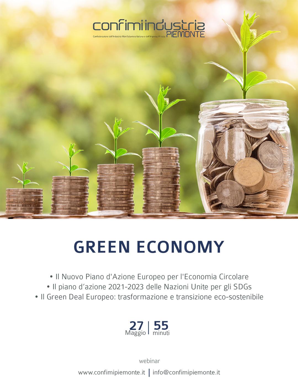Flyer - Green economy