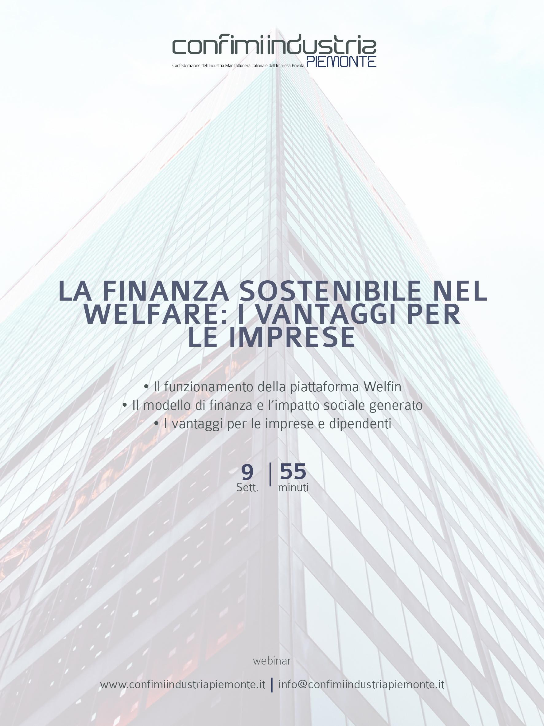 Flyer - La finanza sostenibile nel welfare