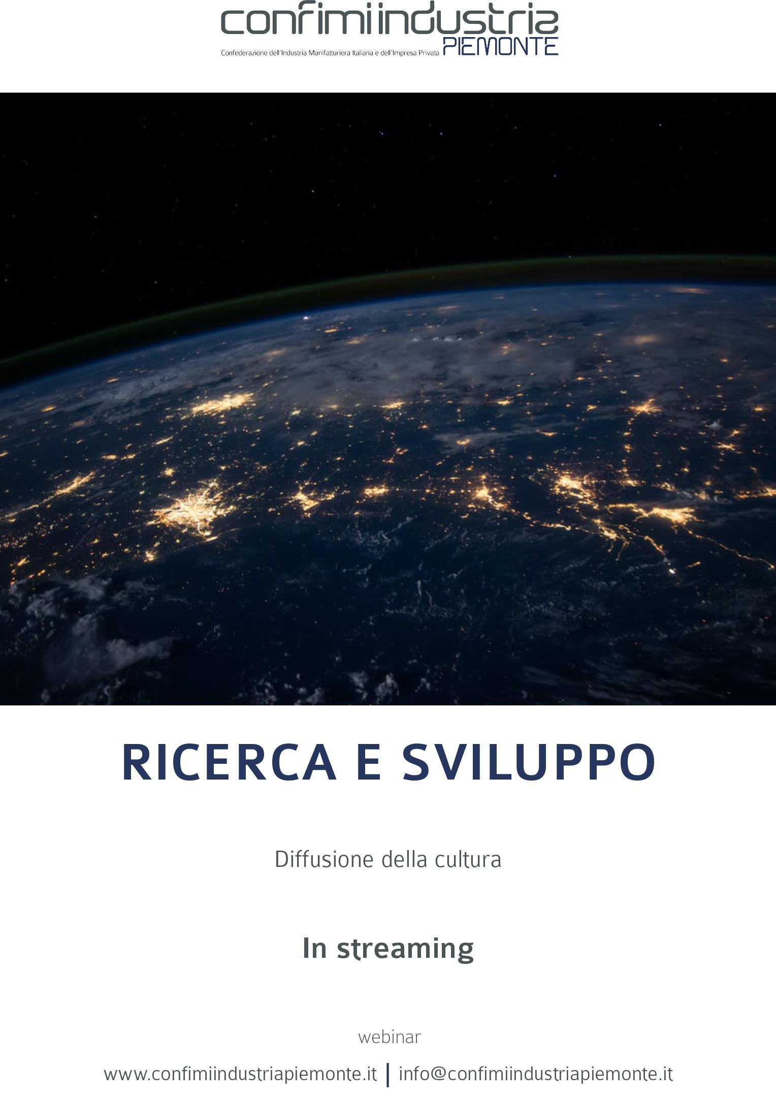 Flyer - Ricerca e sviluppo