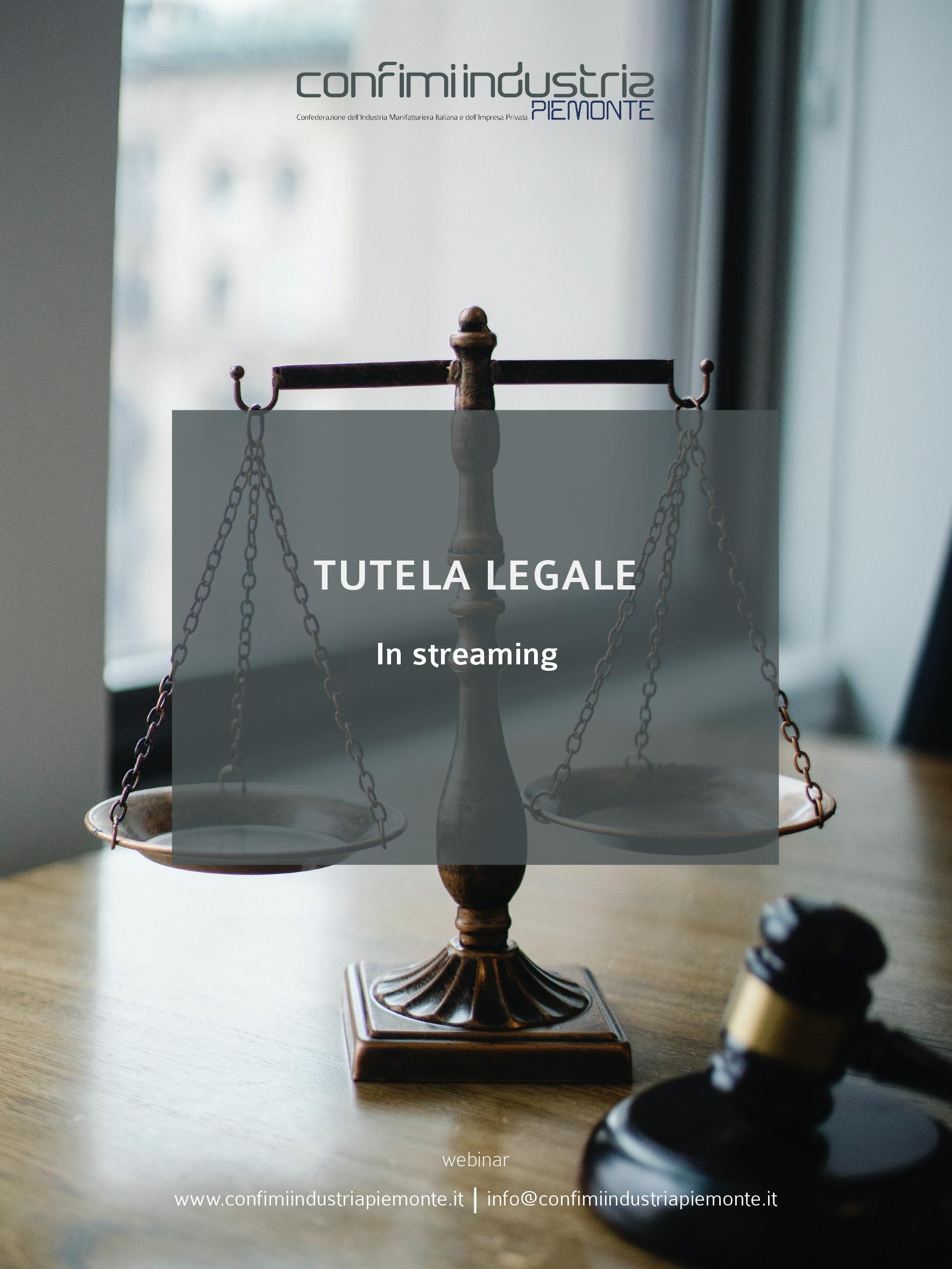 Flyer - Tutela legale
