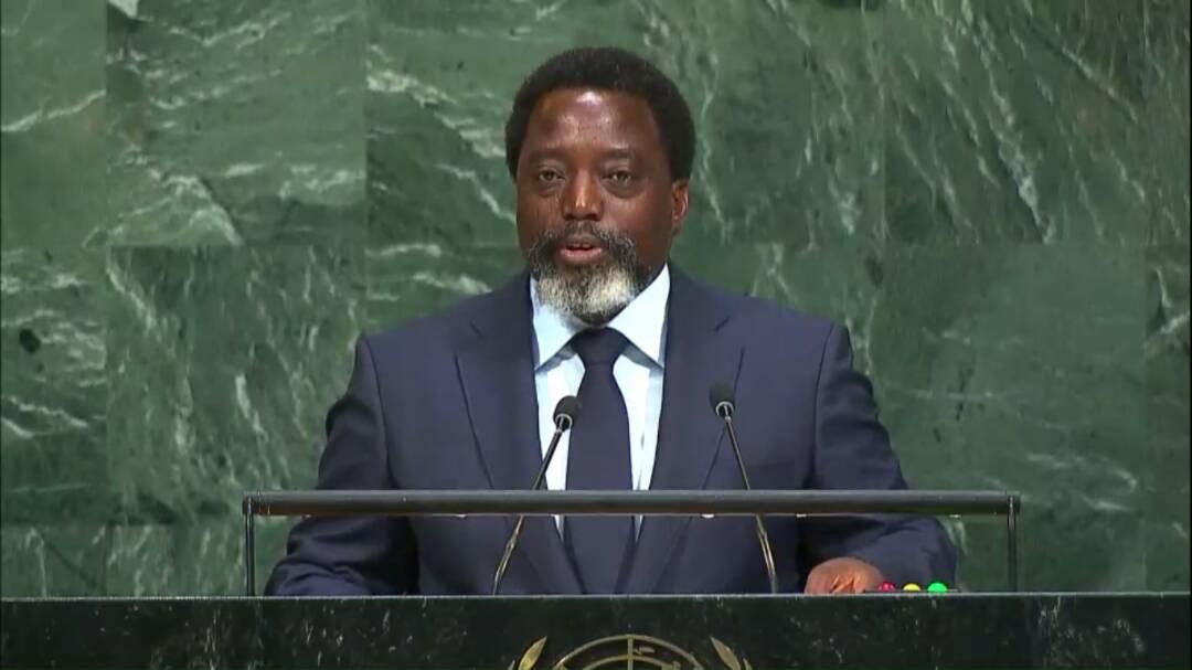 """Discours de """"Joseph Kabila"""" aux Nations Unies"""