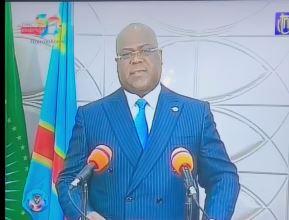 Tshisekedi  jette l'accord CACH-FCC à la poubelle