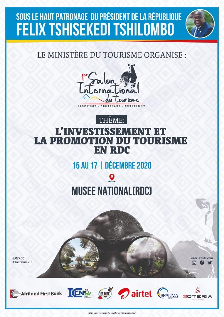 1er Salon du Tourisme International à Kinshasa. 15-17.12.2020