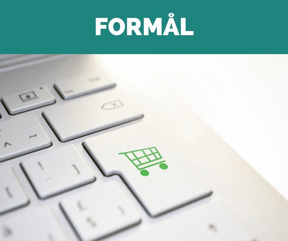 Hvad er formålet med din nye hjemmeside? Skal du sælge  direkte til kunderne, have dem til at kontakte dig eller booke en tid online?