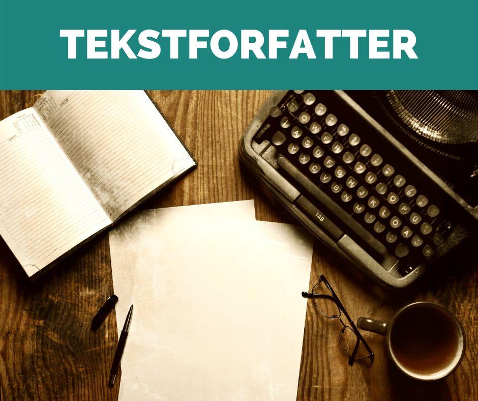 Få hjælp fra en tekstforfatter, så dine tekster får kunderne til at handle.