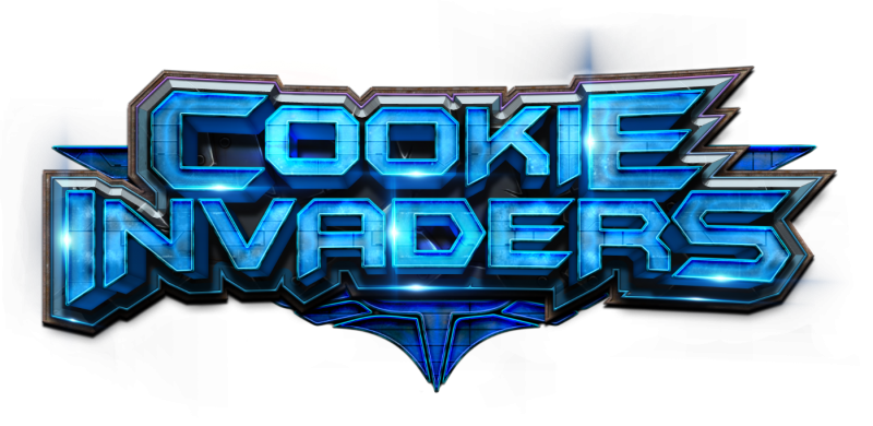 Cookie Invaders Main Logo