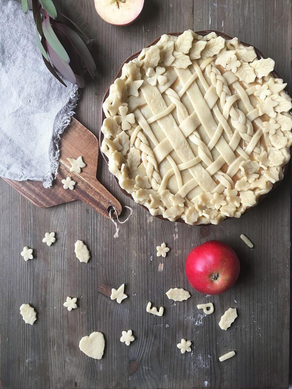 äppelpaj med pajdeg