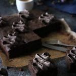 saftiga brownies med mockakräm 4
