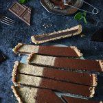 himmelsk chokladtryffel paj