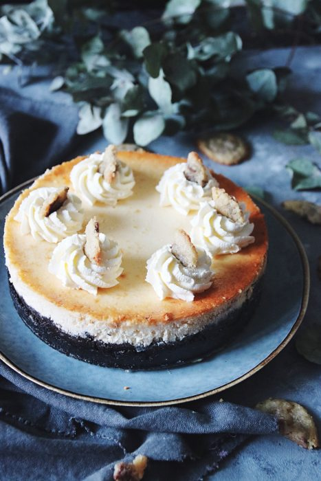 underbart god chocolate chip cookie dough cheesecake