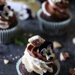 super saftiga choklad mocka cupcakes
