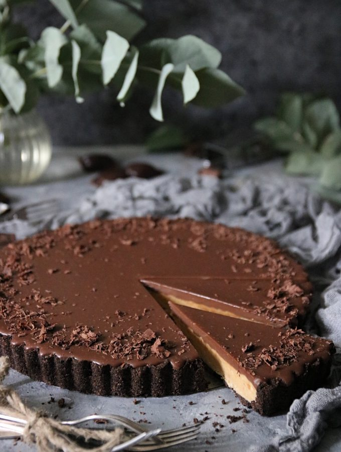 no-bake peanut butter cup paj