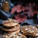 jordnötskakor med kola och choklad