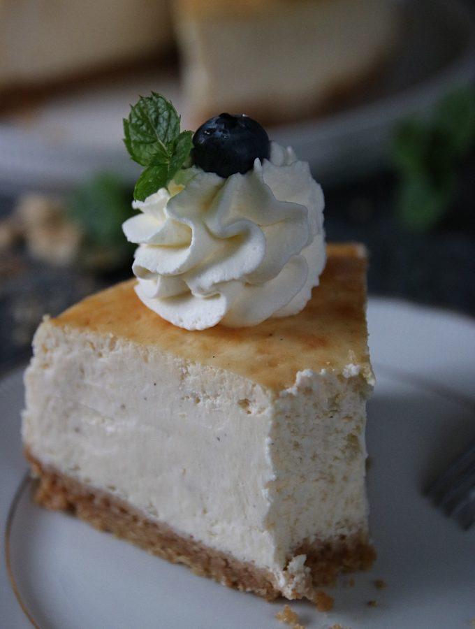 krämig cheesecake