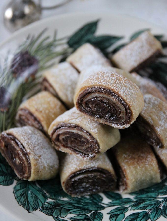 färskostkakor med choklad