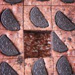 brownies med Oreo